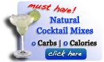 natural cocktail mixes